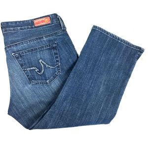 Adriano Goldschmied AG the Athena Crop Jeans Sz 29
